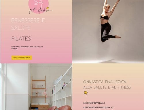 Rosati Fit Studio Sito web